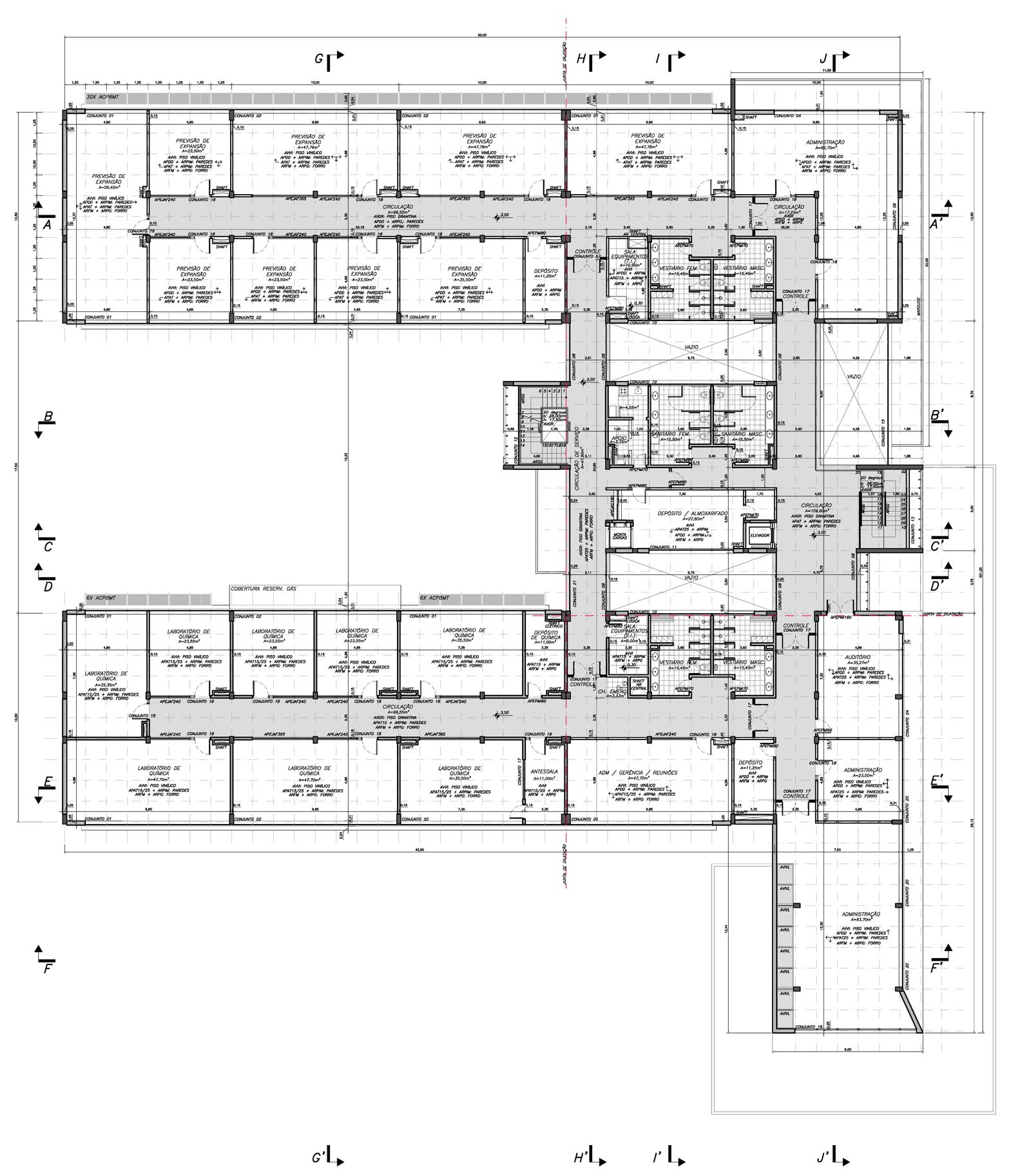 escritório recepção copa banheiros depósitos auditório etc #785361 1600 1824