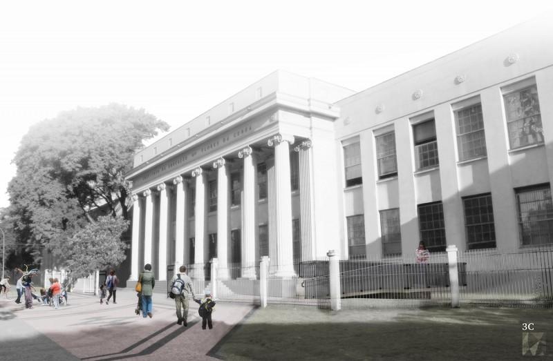 052ie Restauro Do Instituto De Educação 3c Arquitetura E