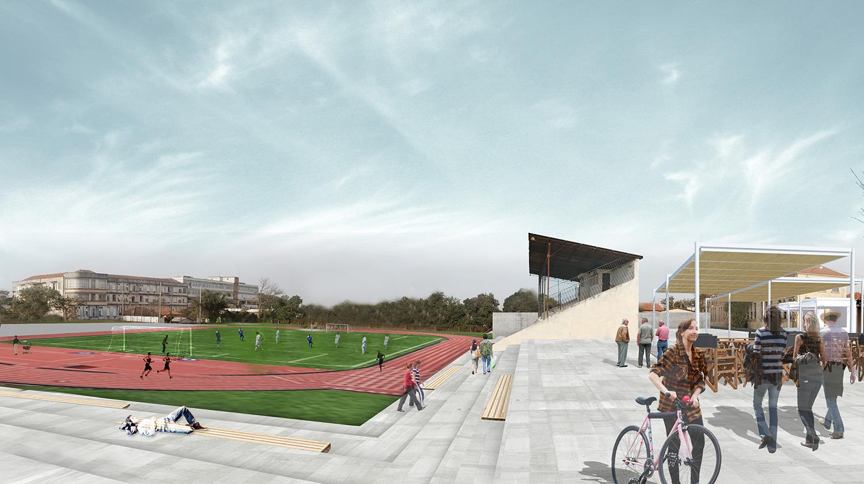 Rio Pardo no Futuro da História - proposta estadio