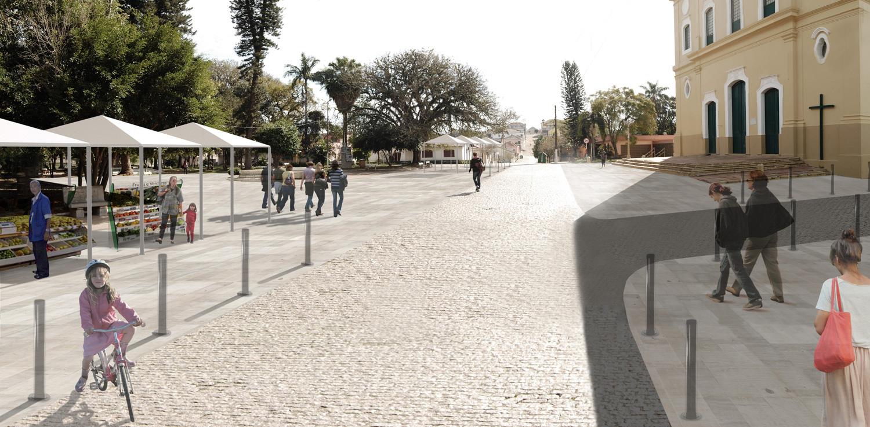 Rio Pardo no Futuro da História - proposta Praça Protasio Alves