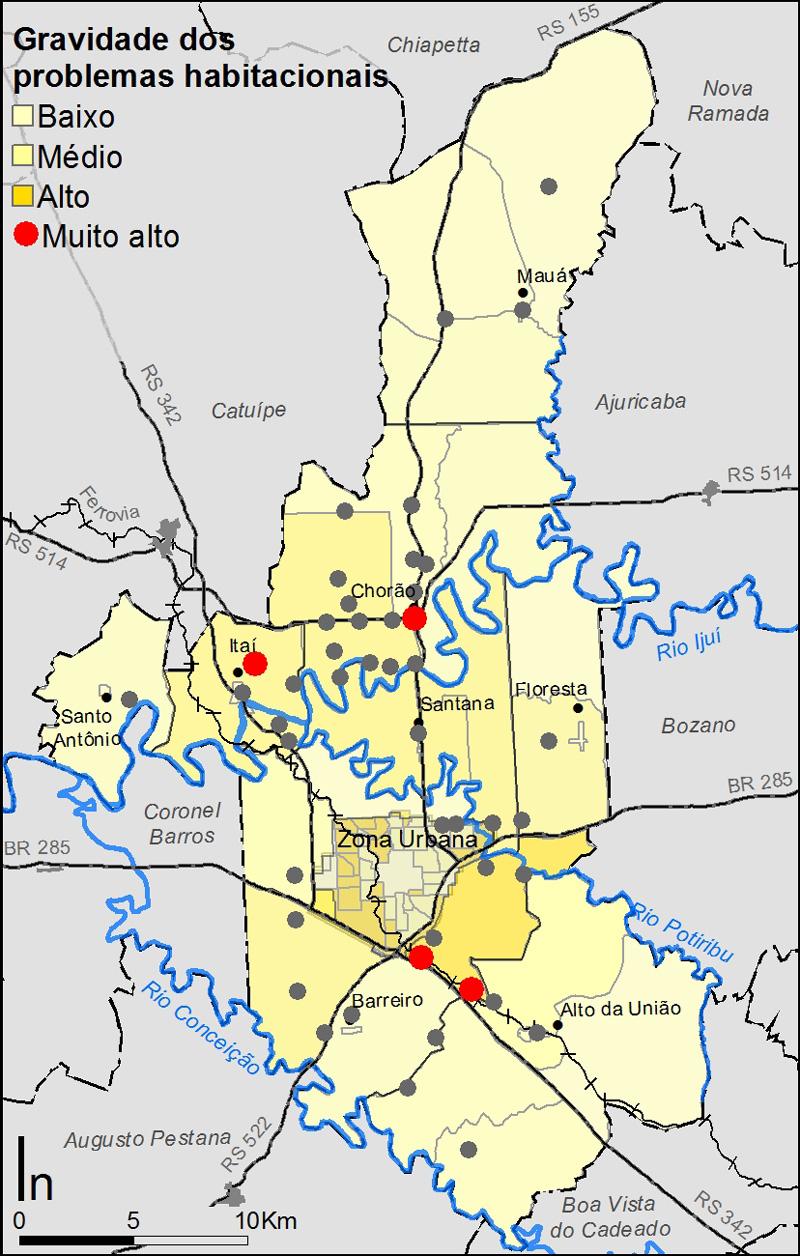 046_IJU Mapa síntese das questões habitacionais rurais