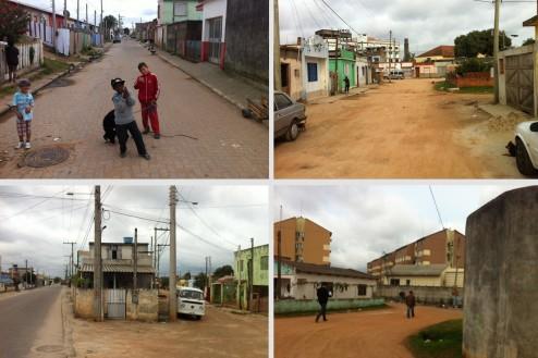 Ferry diverses images, région du Port de Pelotas, près du campus anglo UFPEL