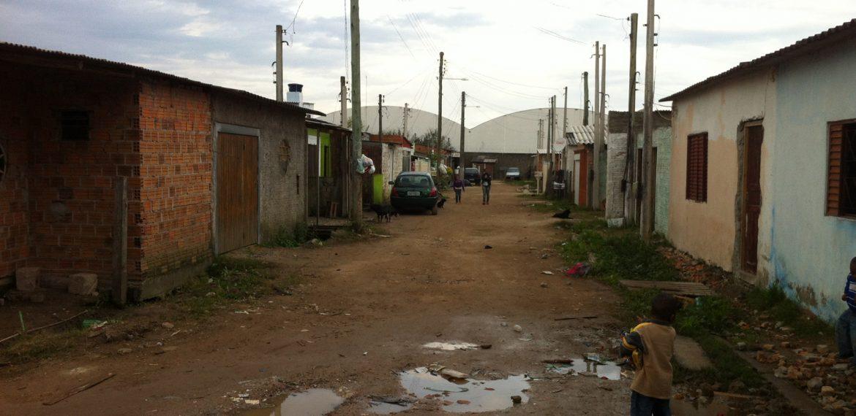 travessa na área Cristóvão José dos Santos
