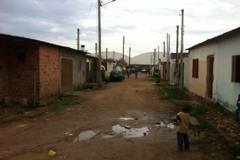 voie dans la zone Christopher José dos Santos