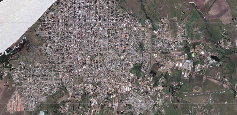 Nivel normal do Rio Uruguai